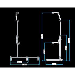 Dimensions Télélock