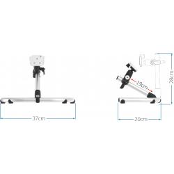 Dimensions support de table TS-DC