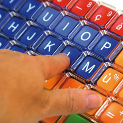 Guide doigts pour clavier Clevy