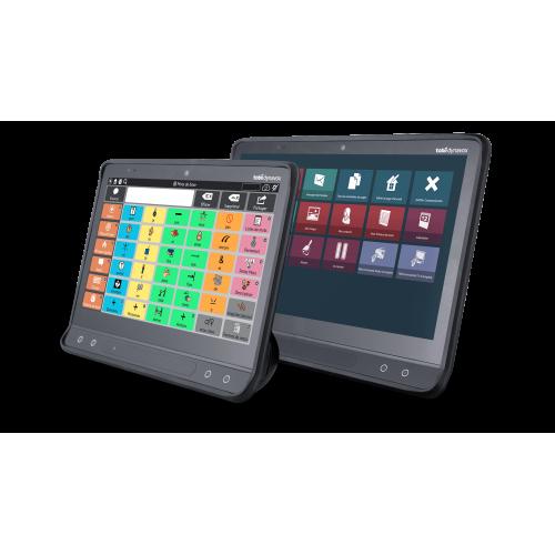 Tablette de communication avec controle oculaire
